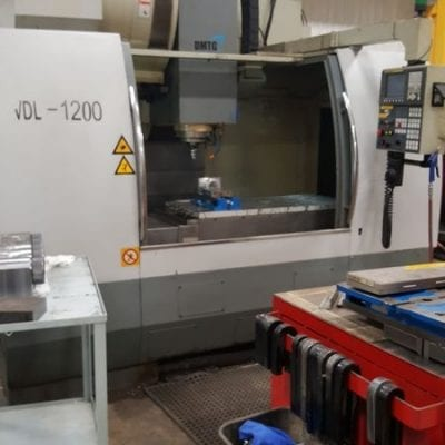 DMTG VDL 1200 Vertical Machining Center 1
