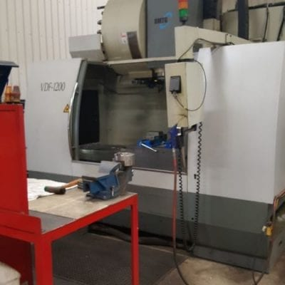 DMTG VDF-1200 Vertical Machining Center 1