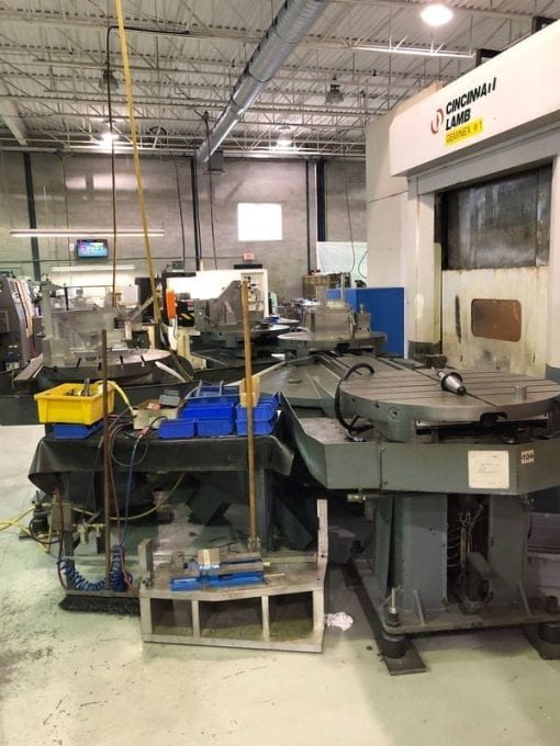 CINCINNATI LAMB H5 Geminex Horizontal Machining Centers 2