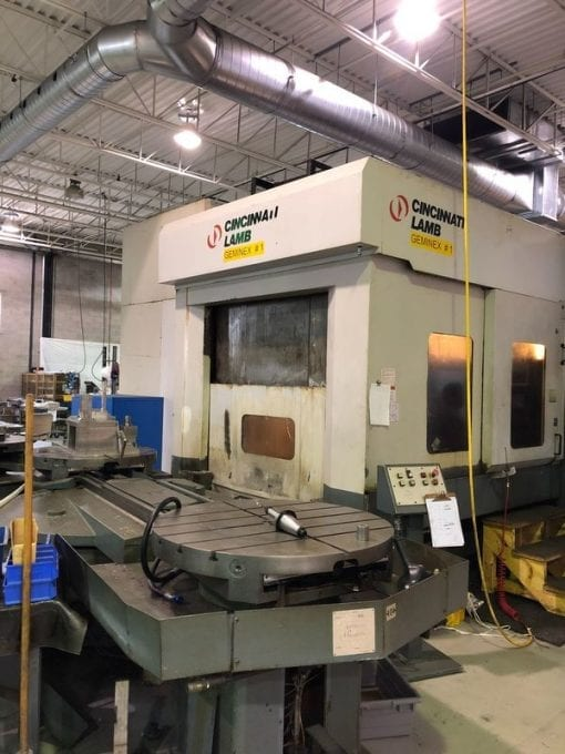 CINCINNATI LAMB H5 Geminex Horizontal Machining Centers 1