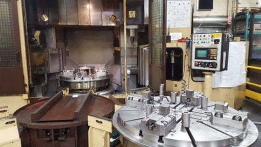 PIETRO CARNAGHI AC12 Vertical Boring Mill 4