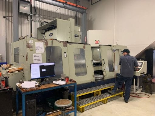 MIGHTY VIPER VMC-2100 Vertical Machining Center 1