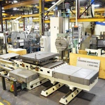 KEARNS RICHARDS KHT130L Horizontal Table Type Boring Mills 1
