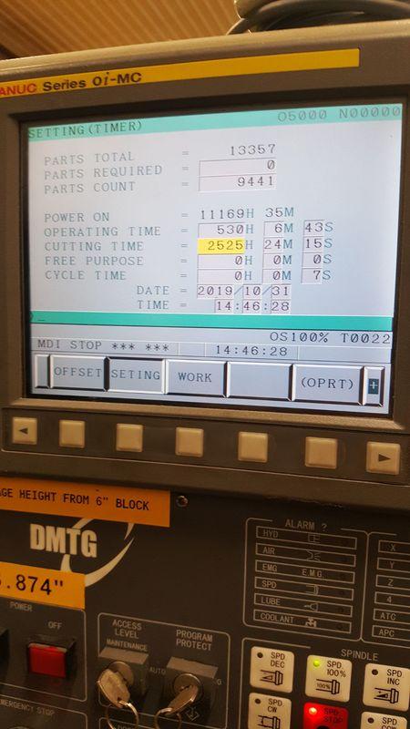 DMTG VDF-1200 Vertical Machining Center 2
