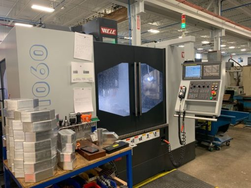 WELE VQ 1060 Vertical Machining Center 1