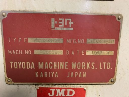 TOYODA GUP32 Cylindrical Grinders 3