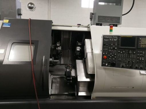 NAKAMURA-TOME SUPER NTM3Y CNC Lathes 1