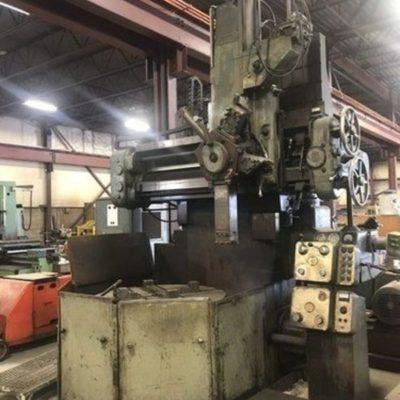 WEBSTER & BENNETT 48 Vertical Boring Mill 1