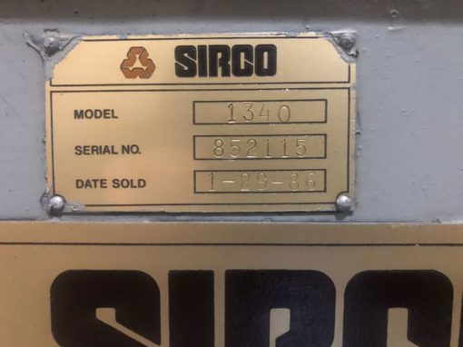 SIRCO 1340 Engine Lathes 4